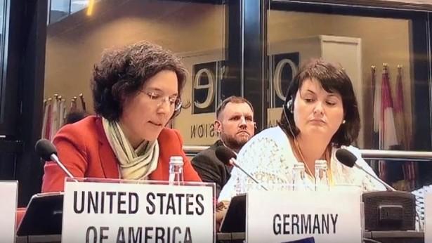 德国政府代表团回复全能神教会庇护问题。