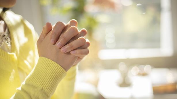 祷告的手势
