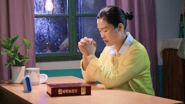 一个姊妹祷告